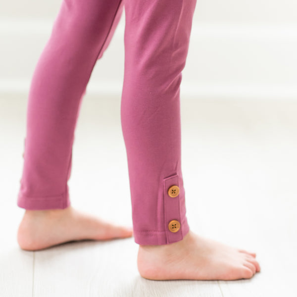 Frankie Leggings - Plum - Final Sale