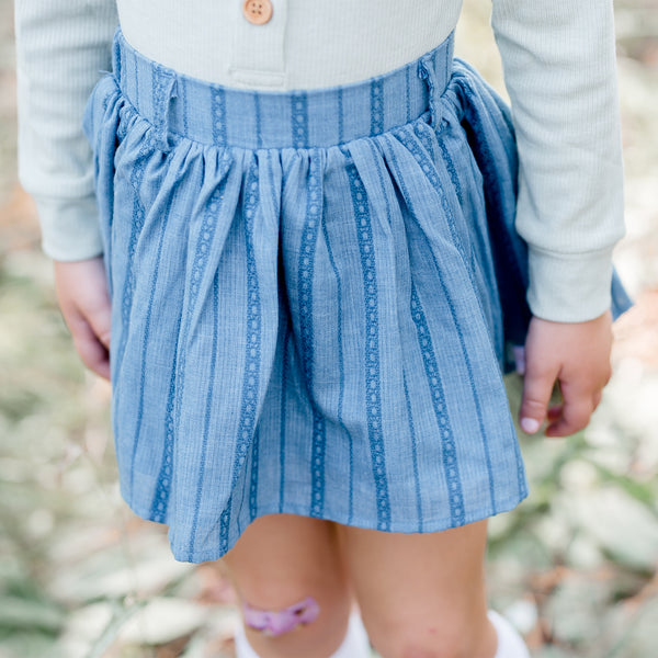 Garden Skirt - Blue - Final Sale