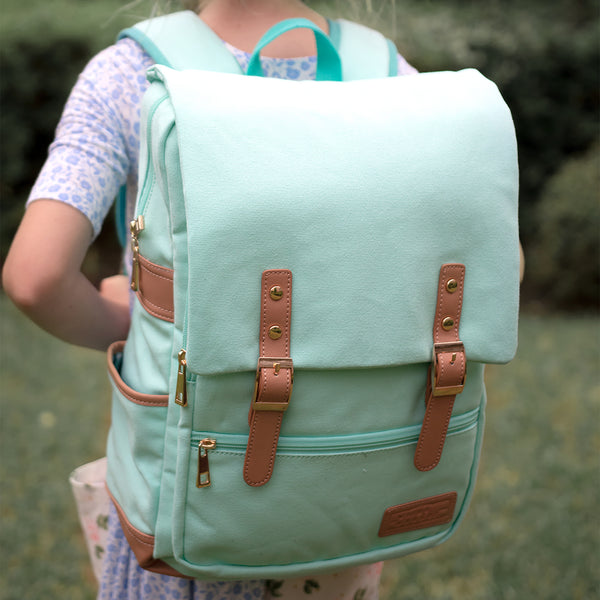 Hudson Backpack - Minty Mood - Final Sale