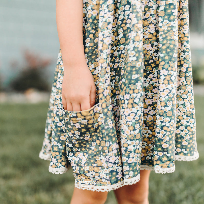 Josie Dress - Ditzy Flowers