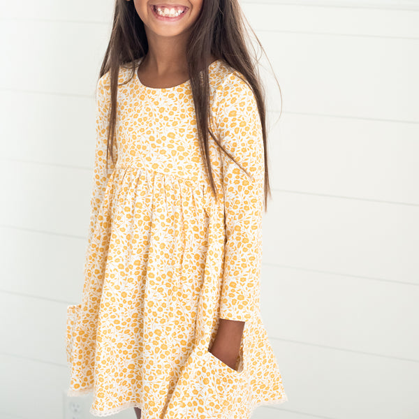 Josie Dress - Lovely Petals