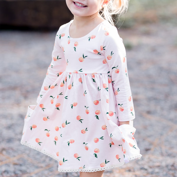 Josie Dress - Rosey Peach
