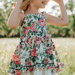 Lacey Dress - Rose