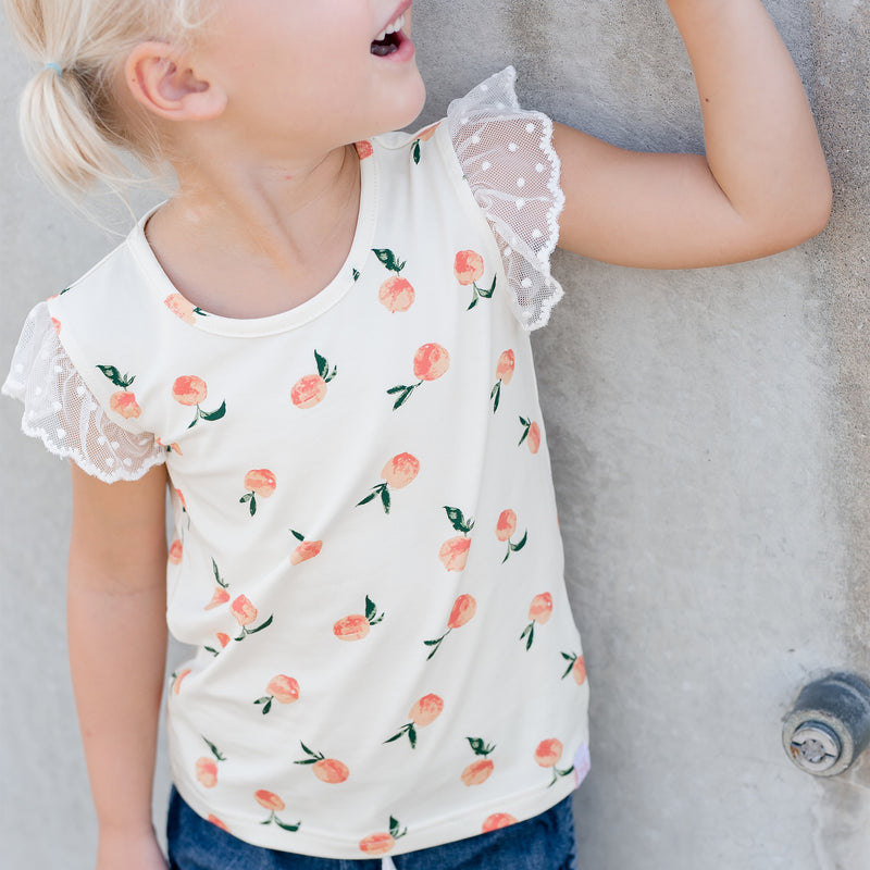 Lanie Layering Top - Peaches