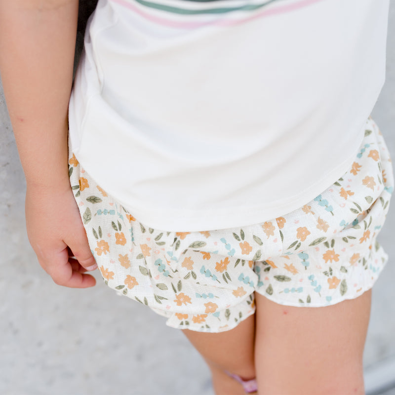 Bloomers - Cream Floral - Final Sale
