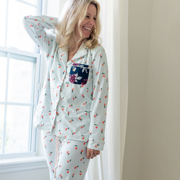 Women's Cozy PJ - Peaches - Final Sale