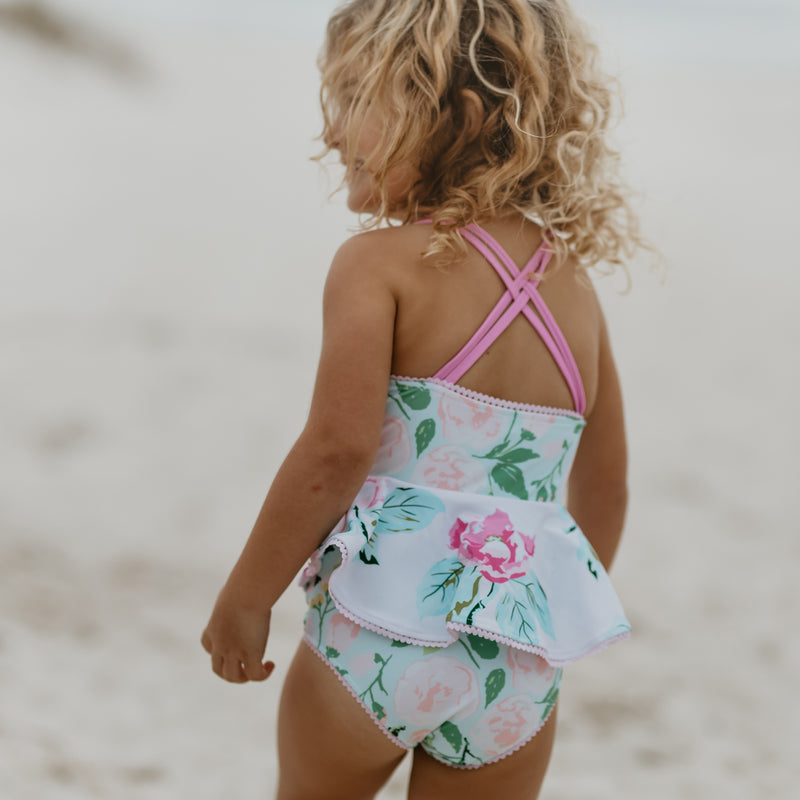 Morgan Skirted One-Piece - Fresh Rose