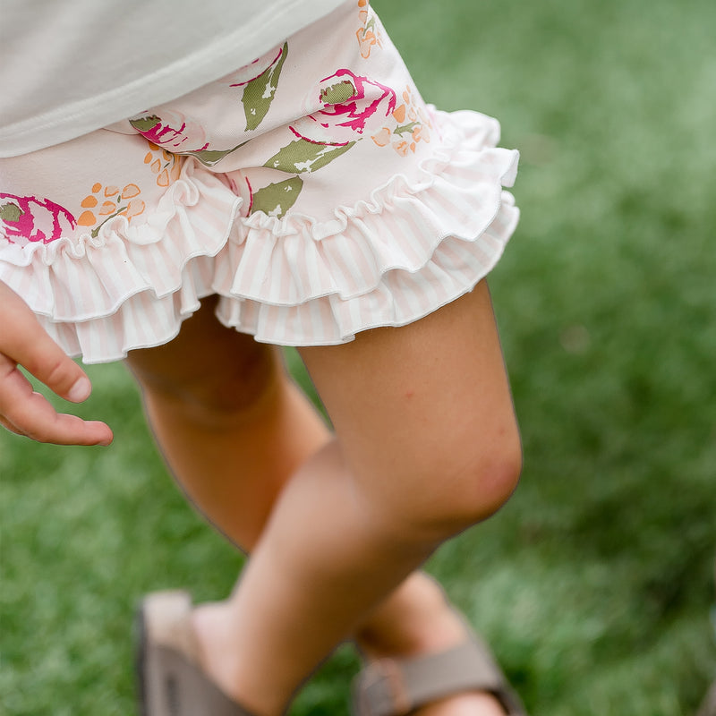 Ruffled Shorties - Taffy - Final Sale