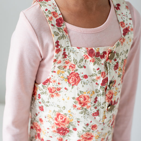 Strappy Jumper - Floral Lane Cream - Final Sale