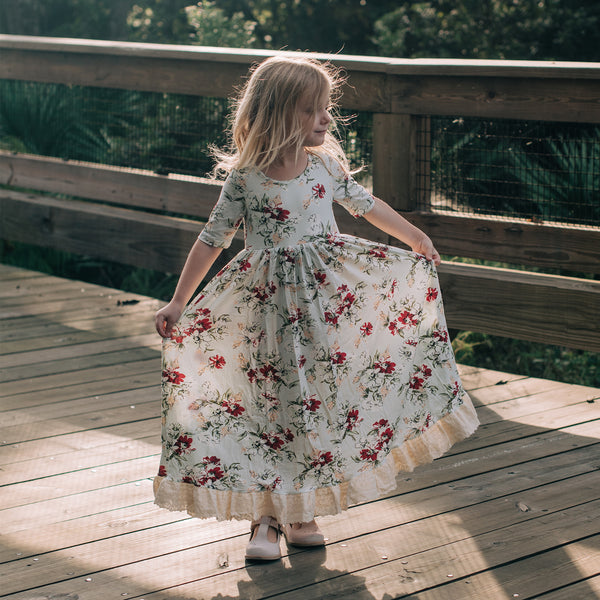 Sweet Dee Maxi - Coneflower Frosted - Final Sale