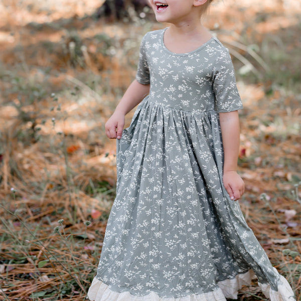 Sweet Dee Maxi - Little Sage Daisy - Final Sale