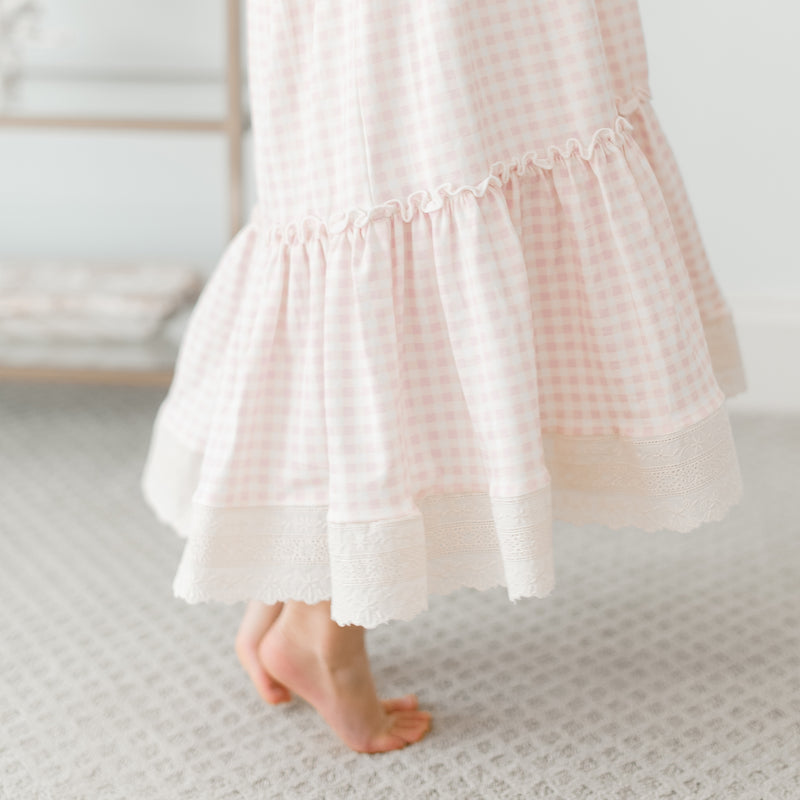 Sweet Dee Maxi - Berry Gingham