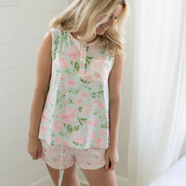 Women's Shortie PJ - Breezy