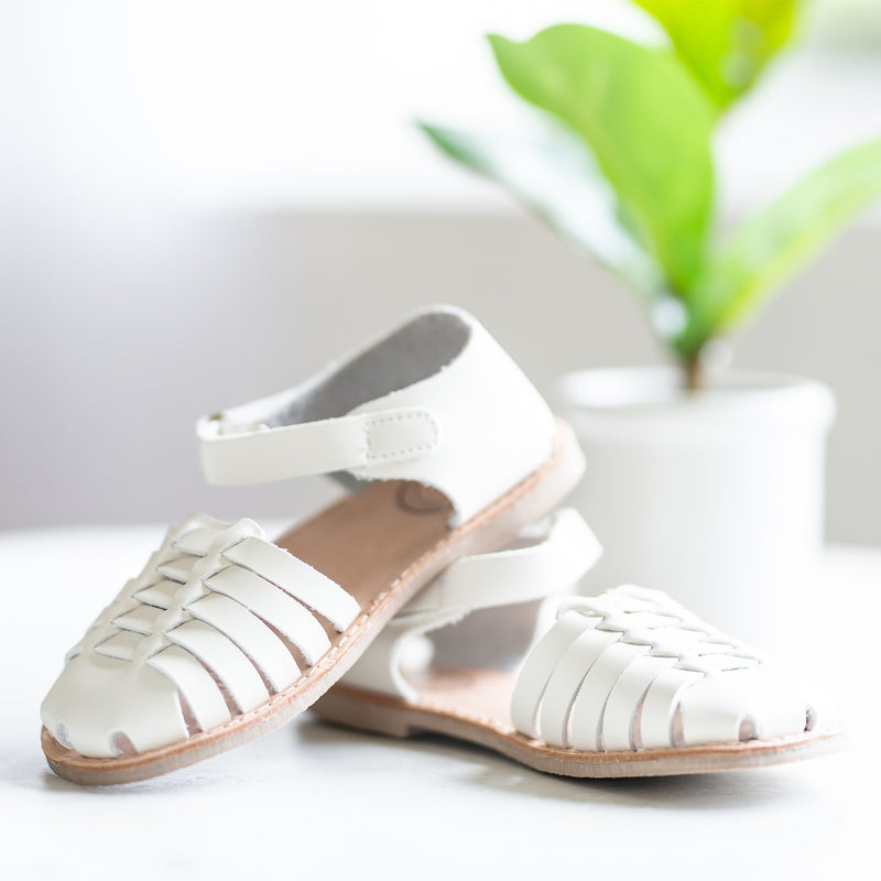 Huaraches Sandals - Ivory