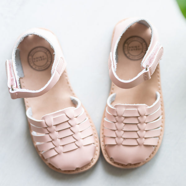 Huaraches Sandals - Rose