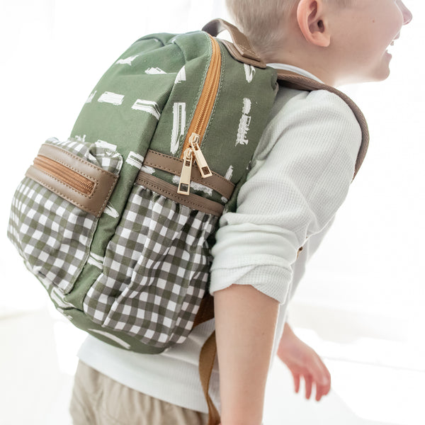 Ridley Backpack - Trains - Toddler - Final Sale