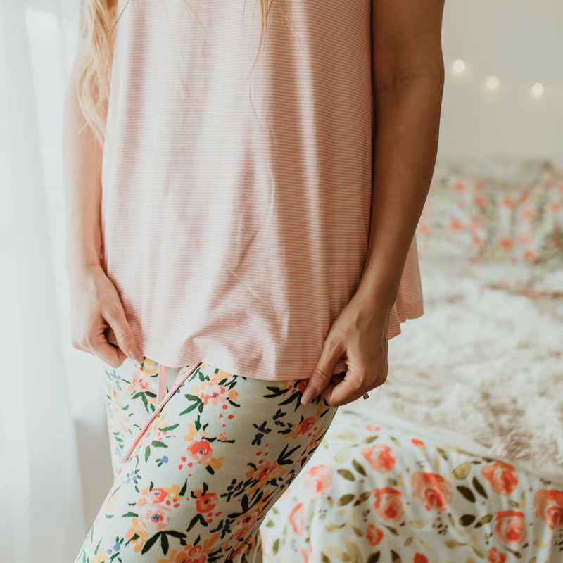 Women's Cozy PJ - Speckled Dianthus