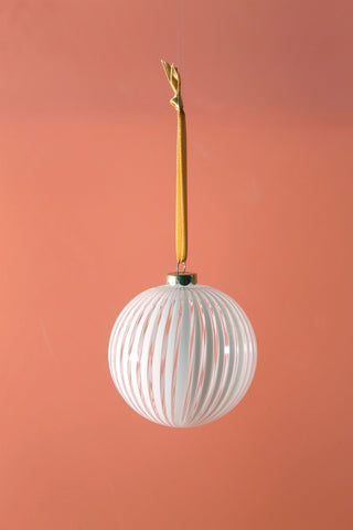 Striped bauble
