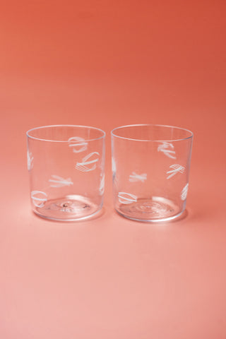 Murrine glasses (set of two)