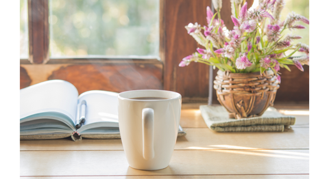 The guide to a morning routine coffee in the morning gratitude practice