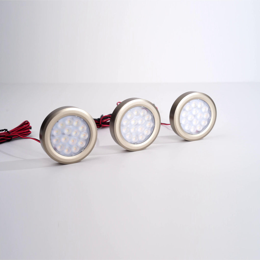 Set of 3 lights - Viridian Round Lights Bemotion