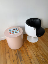 Load image into Gallery viewer, SPACE AGE FIBERGLASS & VINYL TULIP CHAIR