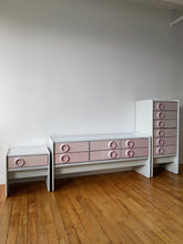 Load image into Gallery viewer, TRECO BY GIOVANNI MAUR SPACE AGE PINK DRAWER CHEST