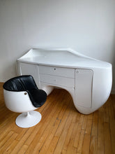 Load image into Gallery viewer, WHITE SPACE AGE BIG DESK / CREDENZA