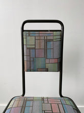 Load image into Gallery viewer, GEOMETRICAL DINING CHAIRS, 80'S