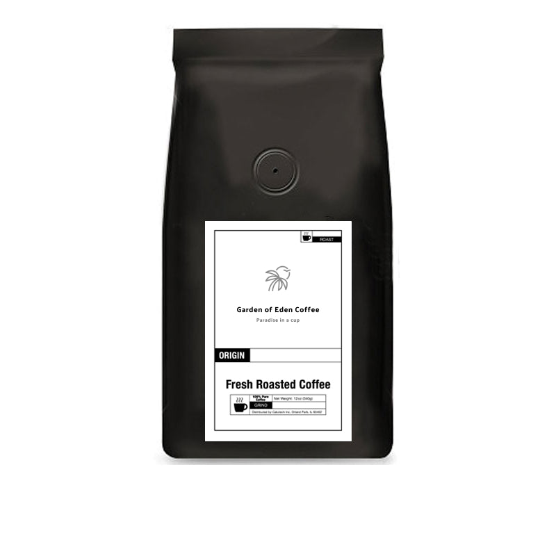 African Kahawa Blend (avail in whole bean, ground, espresso)