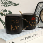Load image into Gallery viewer, Mr. and Mrs. Coffee Mugs Cups Gift