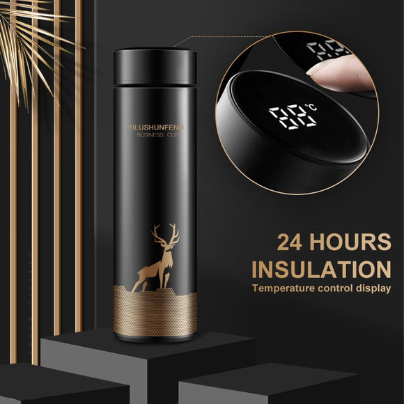 450ml Smart Temperature Display Stainless Steel Thermos