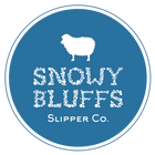 Snowy Bluffs Slipper Co. Logo