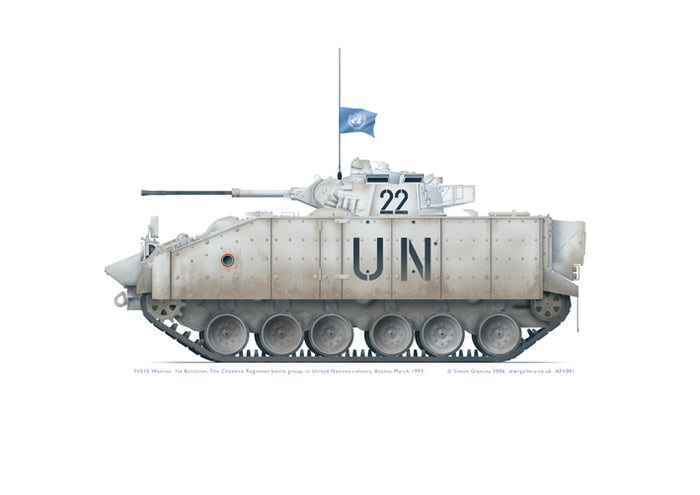 FV510 Warrior United Nations