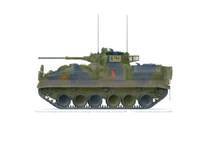 FV510 Warrior ICV, Exercise Uhlan Eagle 1999