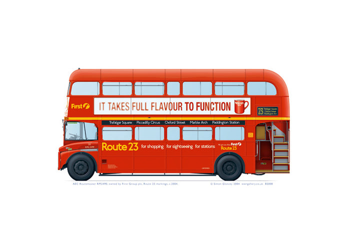 AEC Routemaster RML2490 First Group 2003