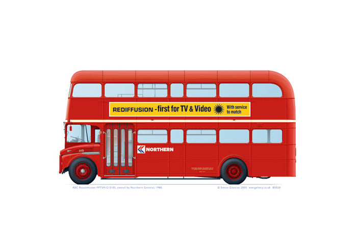 AEC Routemaster FPT591C 3105 Northern General