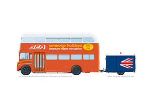 BEA Routemaster orange livery