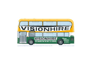 Leyland Atlantean AN68A/1R OVK 145M TWPTE Visionhire livery