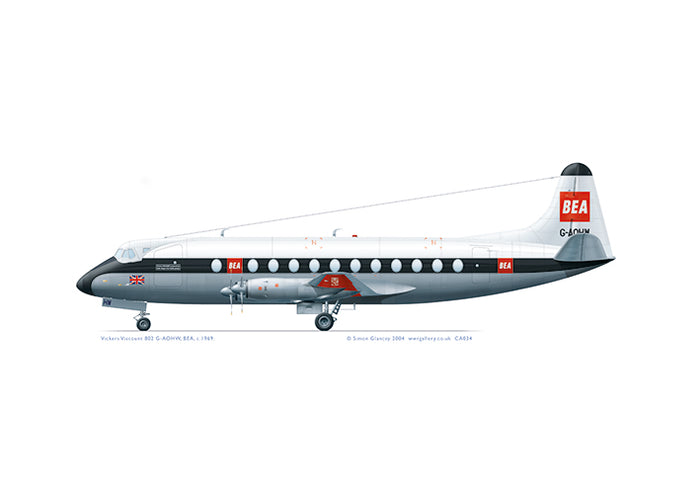 Vickers Viscount 802 BEA