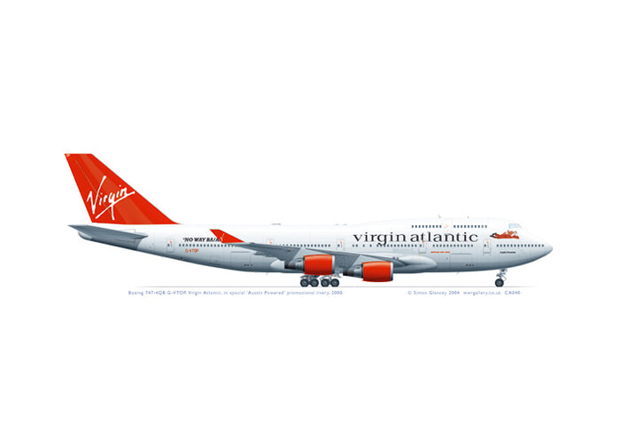 Boeing 747-4QB Virgin Atlantic