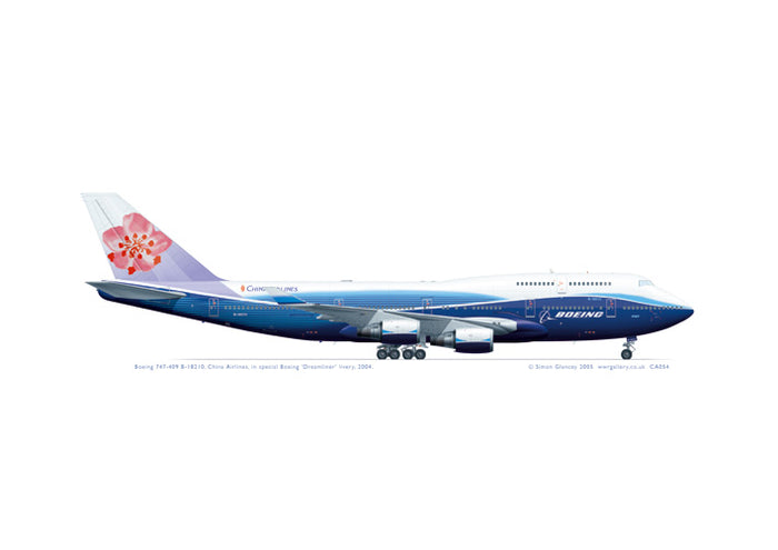 Boeing 747-409 B-18210 China Airlines
