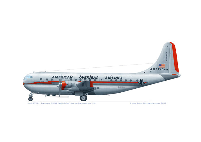 Boeing 377 Stratocruiser American Overseas Airlines