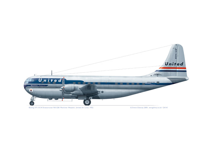 Boeing 377 Stratocruiser United Air Lines