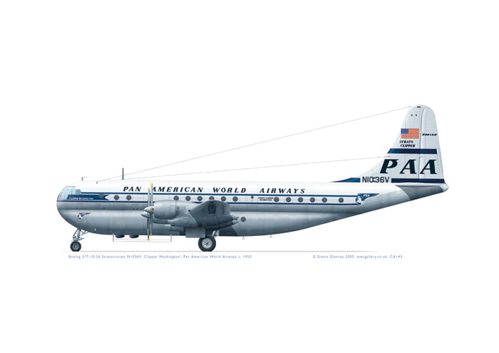 Boeing 377 Stratocruiser Pan American World Airlines
