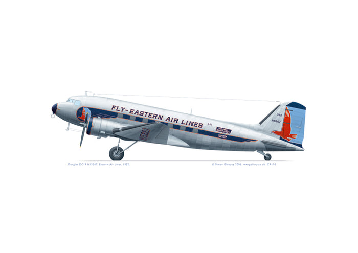 Douglas DC-3 Eastern Air Lines