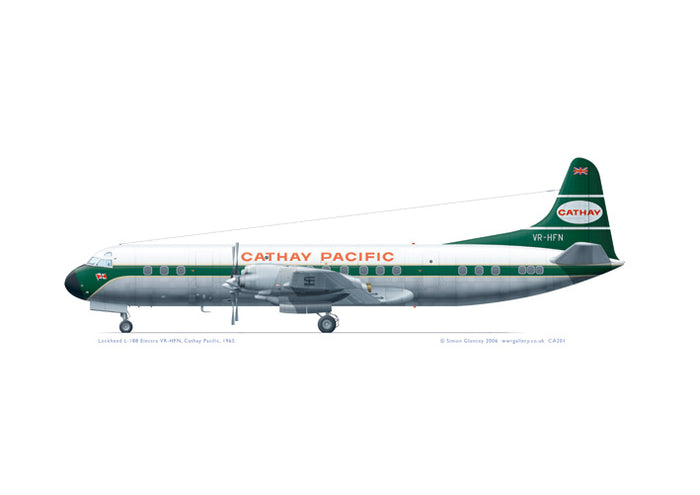 Lockheed L-188 Electra Cathay Pacific