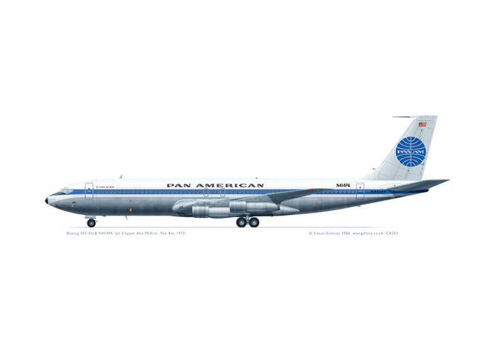 Boeing 707-321B Pan Am