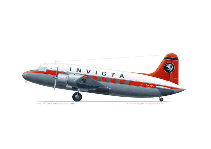 Vickers Viking 1B Invicta Airlines