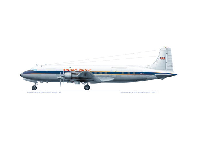 Douglas DC-6A British United